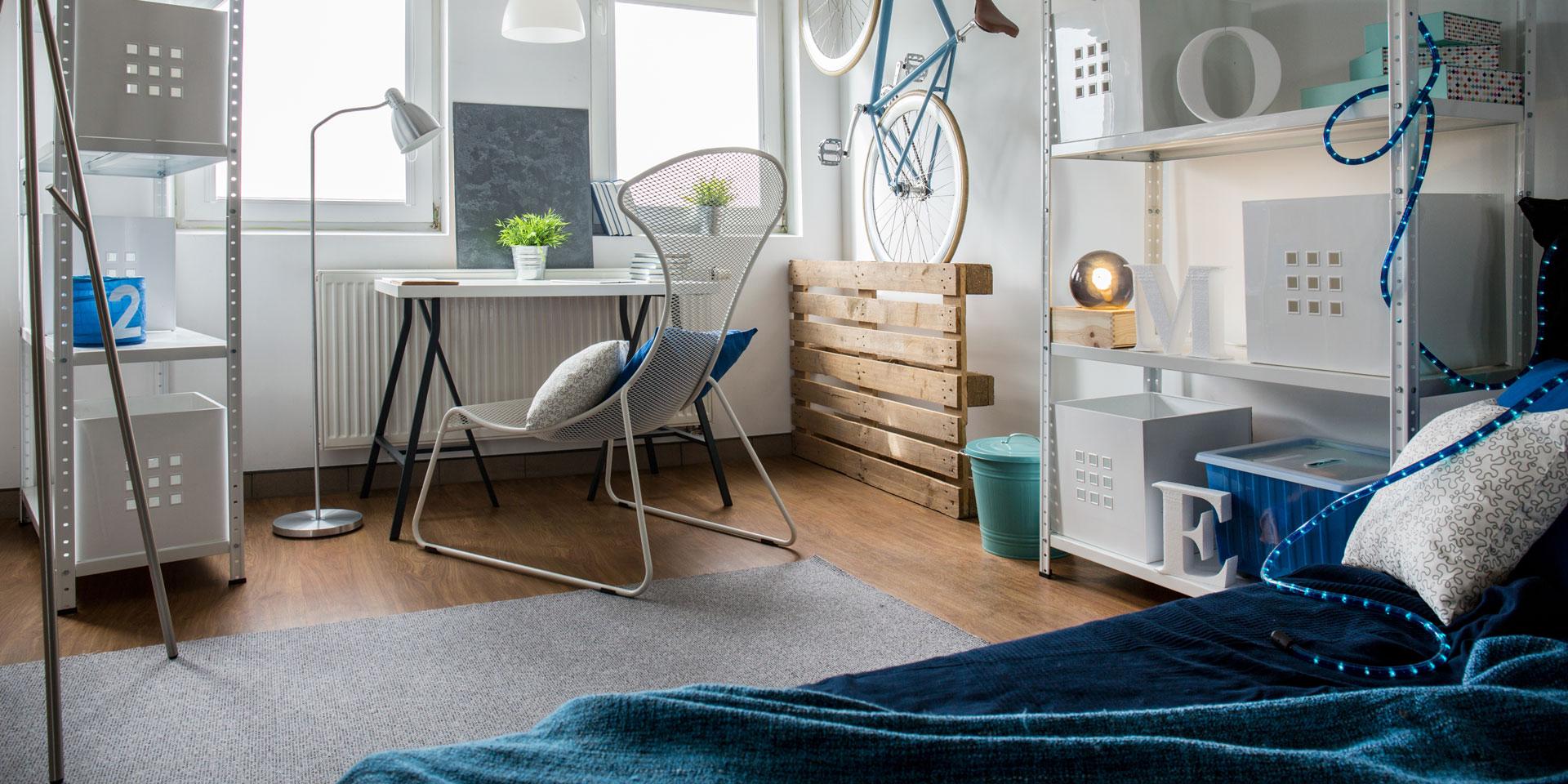 ¿Cómo amueblar tu habitación si no tienes mucho espacio?